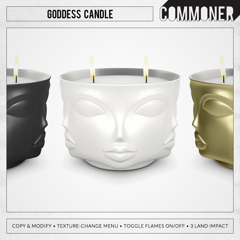 [Commoner] Goddess Candle