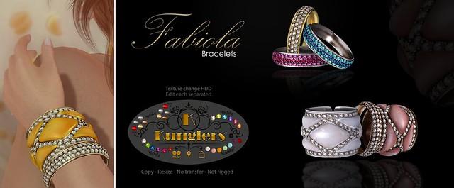 KUNGLERS - Fabiola bracelets