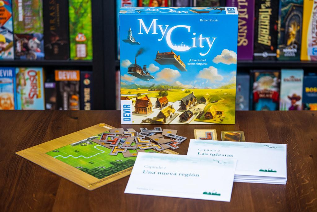 My City  boardgame juego de mesa