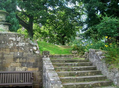 Steps in Falkland Palace Gardens