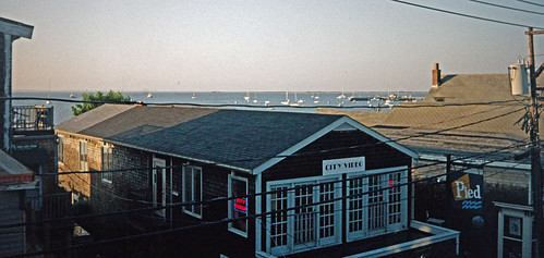 Provincetown View From A Commercial Street Guesthouse