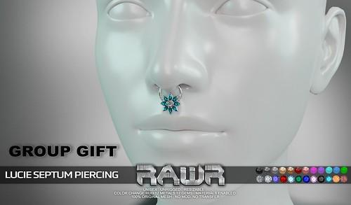 RAWR! Lucie Septum Piercing PIC