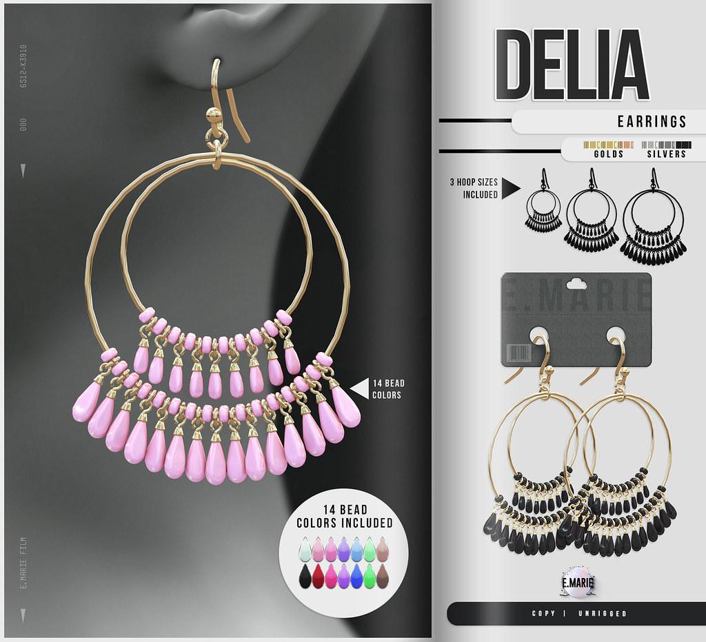 e.marie // Delia Earrings