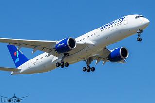 F-WZHI / EC-NOI Airbus A350-941 World2 Fly s/n 448 - First flight * Toulouse Blagnac 2021 *