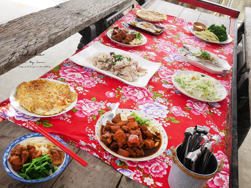 台南後壁區人氣美食餐廳鄉下農家美食富貴食堂好吃農家菜三合院餐廳 (2)