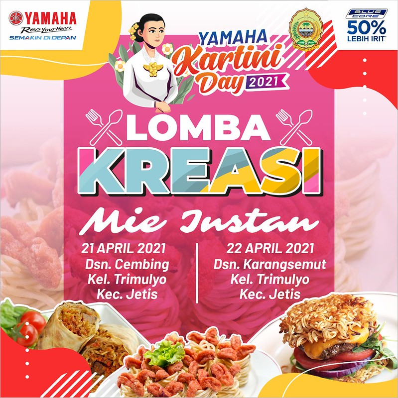 Lomba Kreasi Mie Instant Kartini