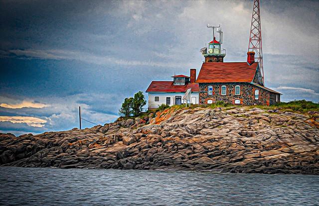 Passage Island Lighthouse