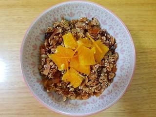 Crunchy Citrus Toasted Granola