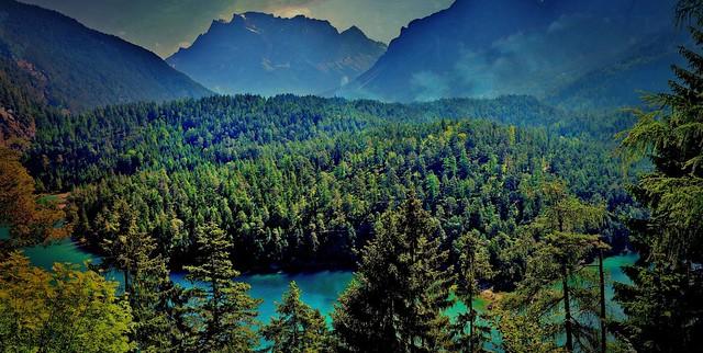 Österreich,  Blindsee am  Fernpass, 79000/13602