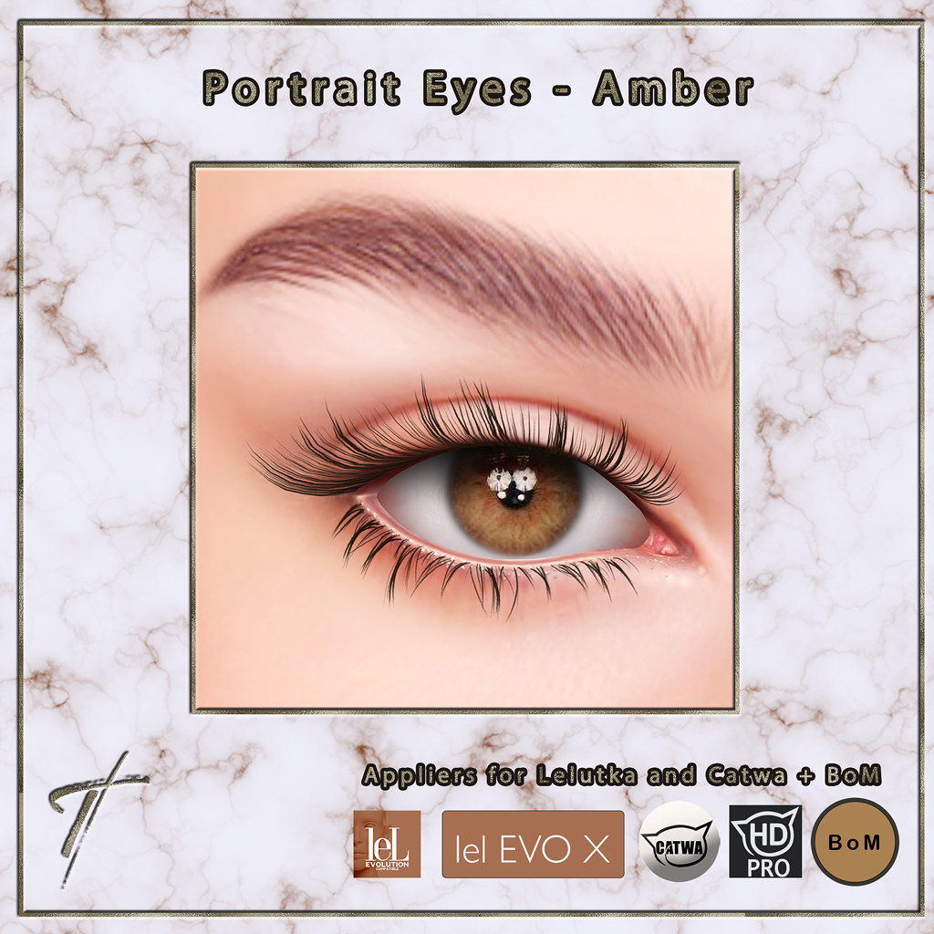 Tville - Portrait Eyes *amber*
