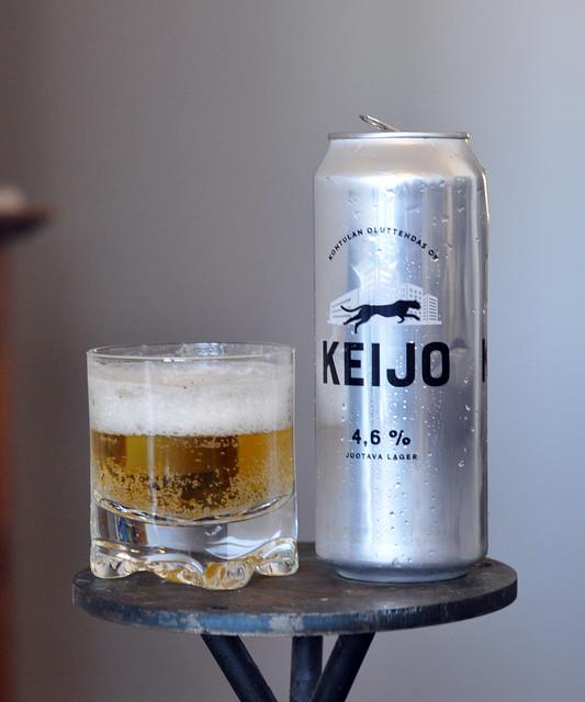 Keijo juotava lager by Kontulan oluttehdas Oy
