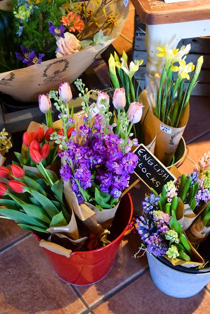 Fresh Flowers at Macknade Fine Foods