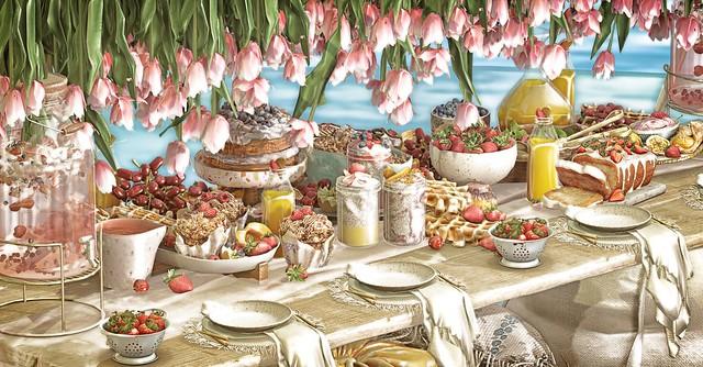 ♡  | Beachside Buffet.