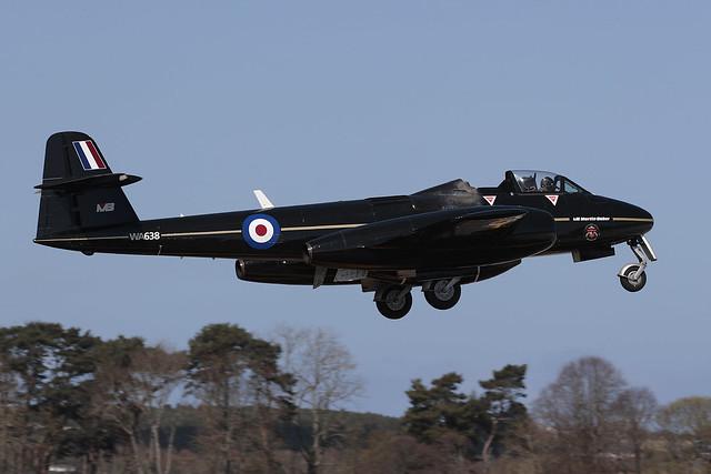 Meteor T7(mod) WA638 Martin-Baker