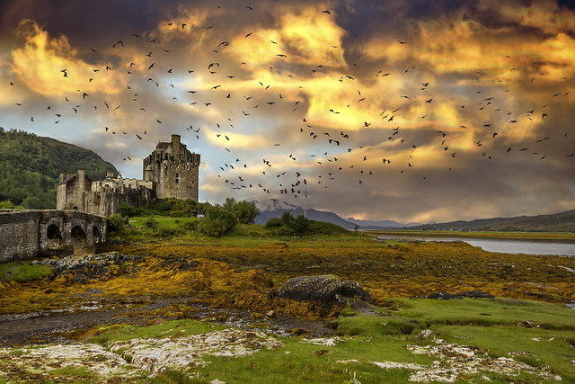 Eilean Dorian castle 4