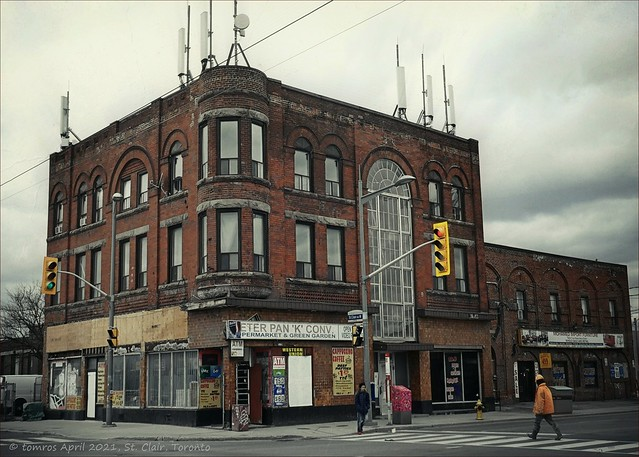 Haydon House 1890 to 2021? It's fate is sealed. St. Clair, Toronto.