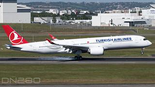 Turkish A350-941 msn 454 F-WZFZ / TC-LGE