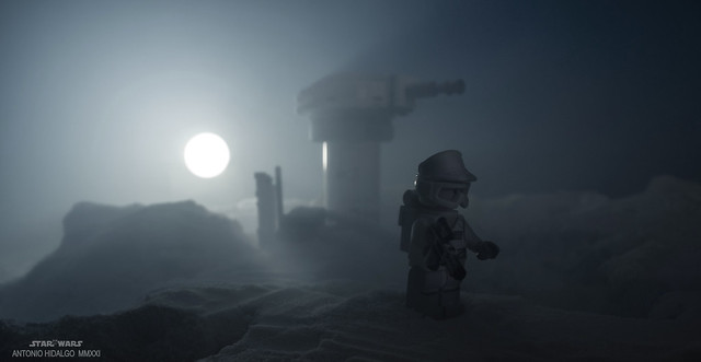 WINTER MORNING  IN HOTH