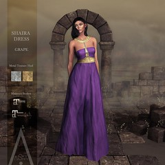 .AiShA. Shaira Dress GRAPE @FF2021