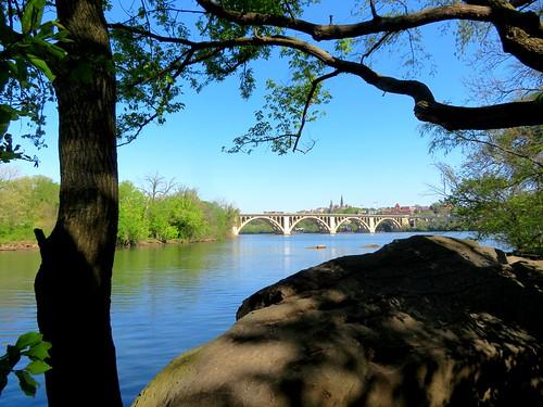Key Bridge and Georgetown University