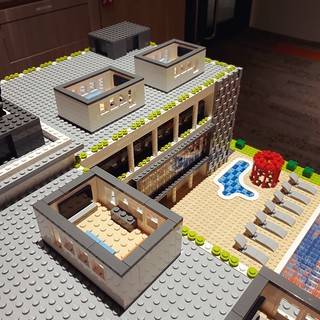 Grateful to work on cool projects for awesome clients, and to spread joy one brick at a time. Stay safe and have a good weekend. :) #customdesign #clubhouse #artisanbricks #lego #architecture #singapore | by www.artisanbricks.com