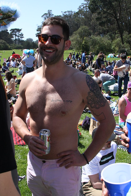 HUNK # 28 of the 101 HUNKS at the previous HUNKY 'J' CONTESTS  !  HUNK # 28 !  ( safe photo )