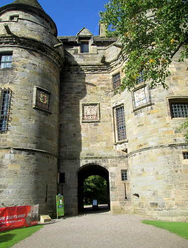 Falkland Palace Entrance