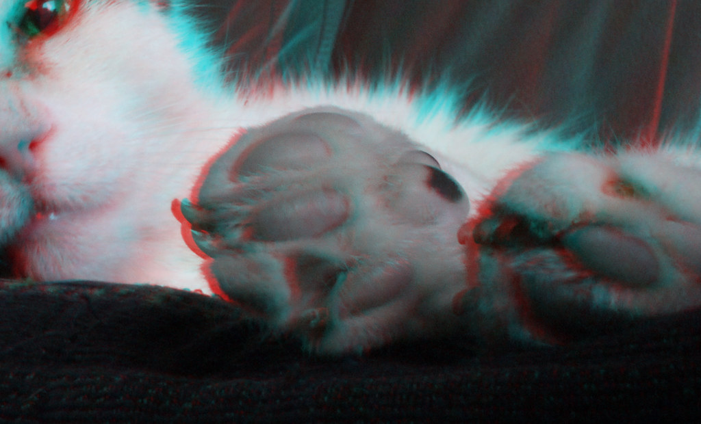 Patch 3D anaglyph