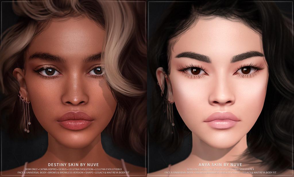 Anya & Destiny skin – Evo X update