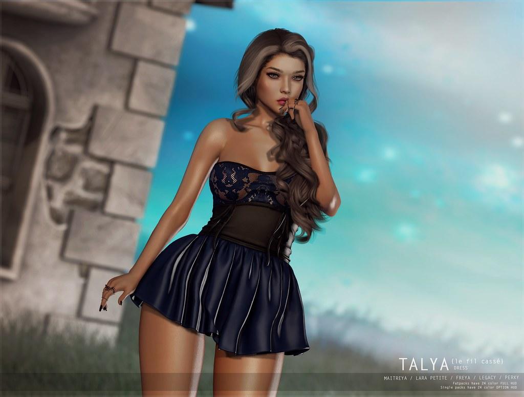 {le fil cassé} Talya Dress for Collabor88