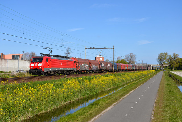 DB Cargo 189 822-0 | Sassenheim 23 April 2021.