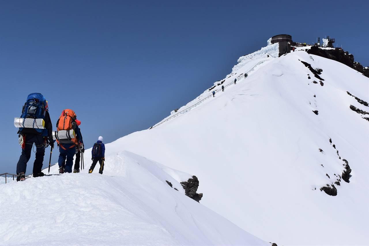 ゴールデンウィークの富士登山