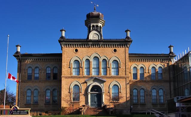 Peel County Courthouse, 1866, Brampton, Ontario.