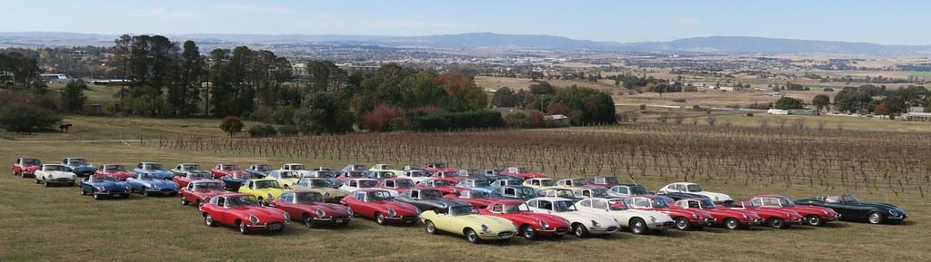 60th Anniversary of the Jaguar E-Type