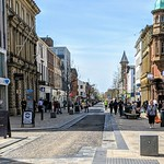 Down Fishergate in Preston