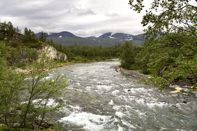 River Abiskojokka