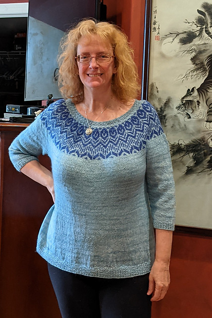 Linda (lmcnorton) finished her Pink Velvet by Andrea Mowry for the #drkmarch2maykal