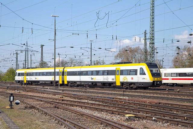 DB Regio 612 129 Basel Badischer Bahnhof