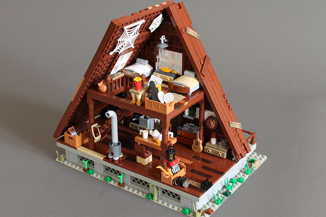 A-FrAme Cabin fully detailed interiors are out now!