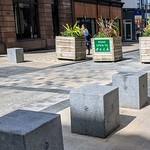 Blocks in the street