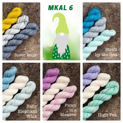 Pre-Order the Ancient Arts Yarn Gnot Just Another Gnome MKAL Kits today! I will be taking Pre-Orders until Monday, April 26, 2021.