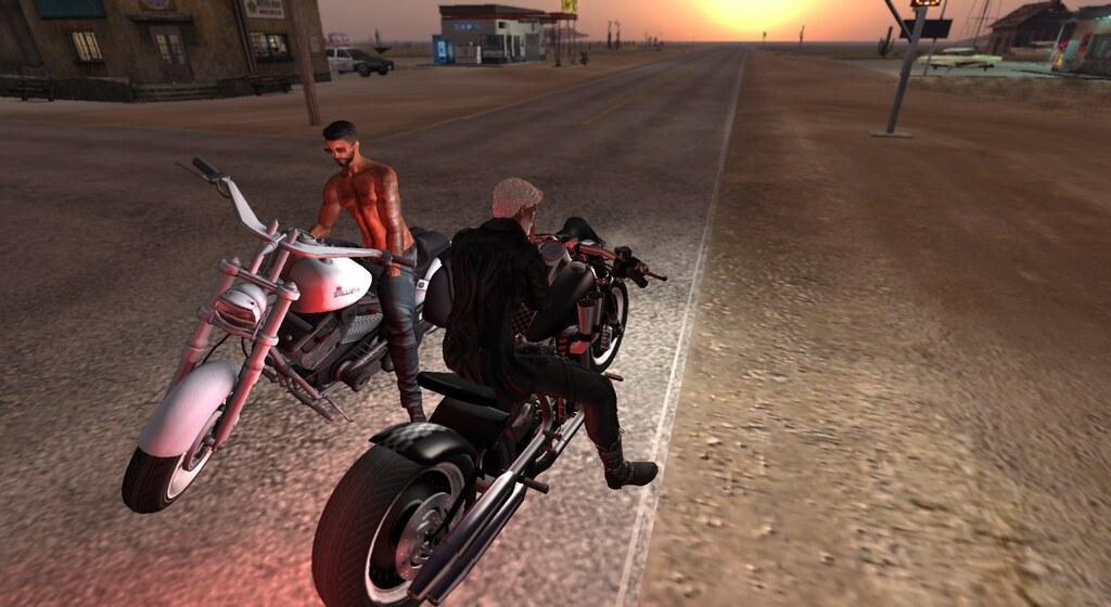 ...Talkin' about Girls, Talkin' about Bikes....