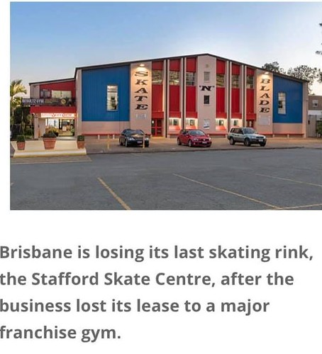 Stafford skating rink