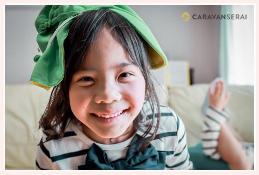 笑顔の女の子 6歳