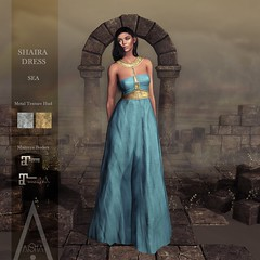 .AiShA. Shaira Dress Sea @FF2021
