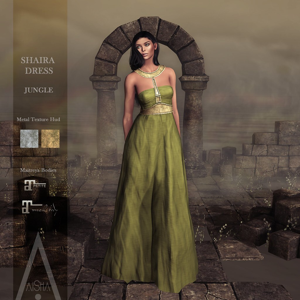 .AiShA. Shaira Dress Jungle @FF2021