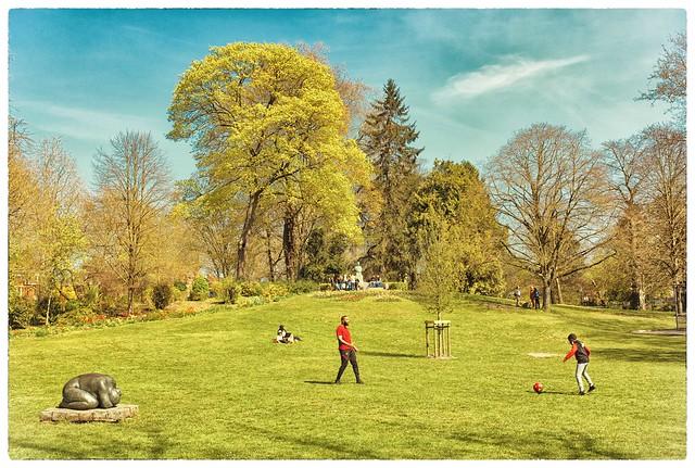 Un jeudi au parc