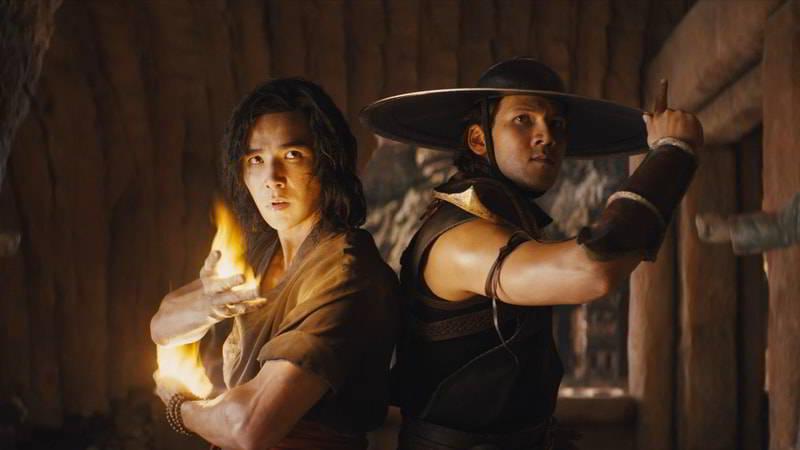 Liu Kang and Kung Lao