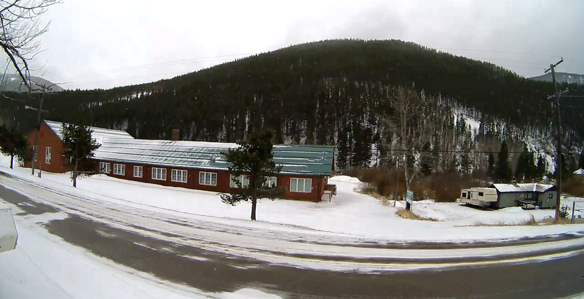 Webcam located on the middle of Neihart, MT looking South East with a view of Highway 89.