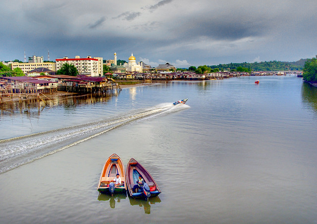 Brunei. Bandar Seri Begawan.